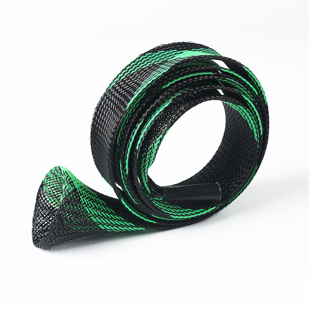 Storage Bag Multicolor Anti-scratch Telescopic Fishing Rod Protection Bag Black green