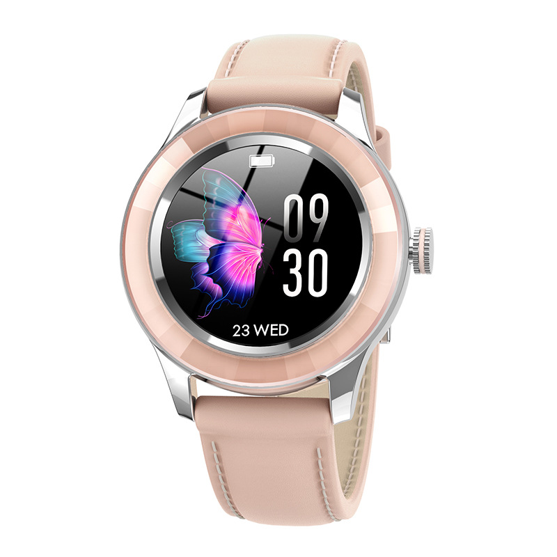 S09 Smart Watch Female Menstrual Cycle Call Reminder Bluetooth Sports Smart Bracelet Pink