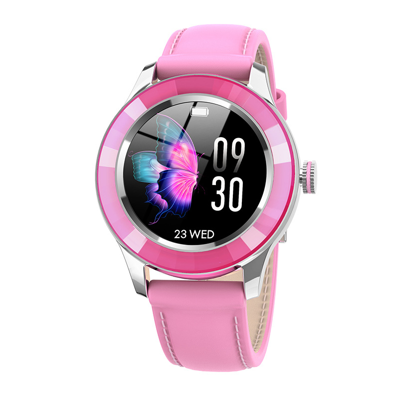 S09 Smart Watch Female Menstrual Cycle Call Reminder Bluetooth Sports Smart Bracelet Red Pink