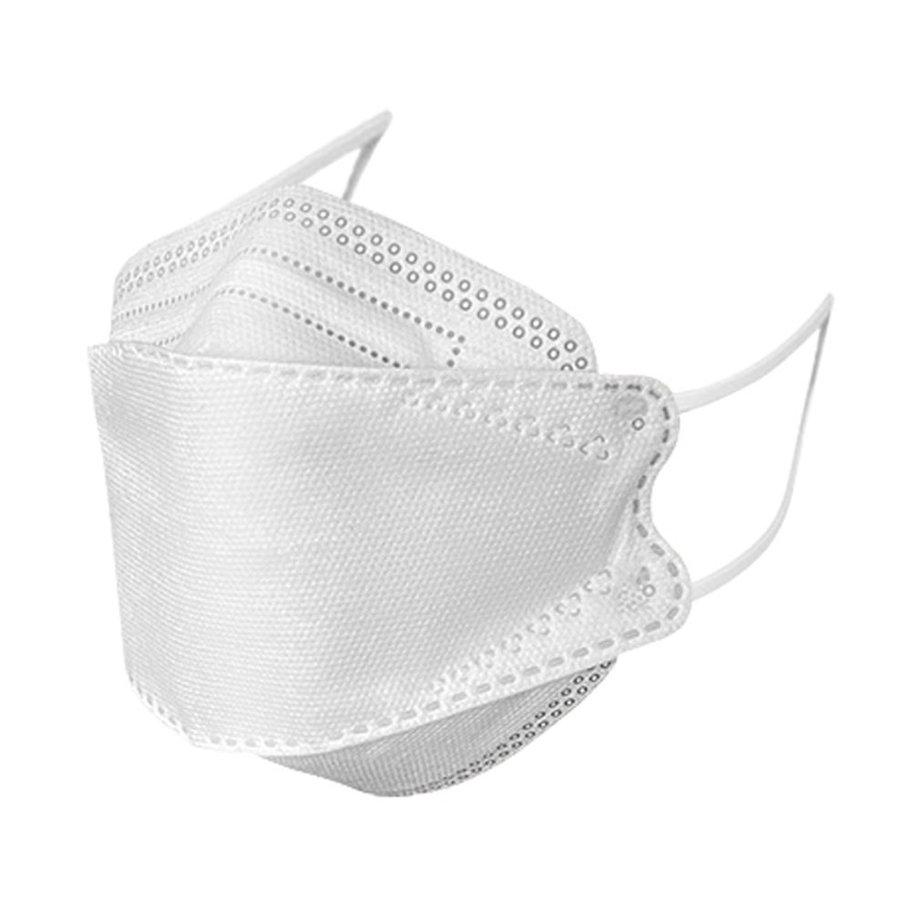 10pcs Anti-haze Mask KN95KF94 white