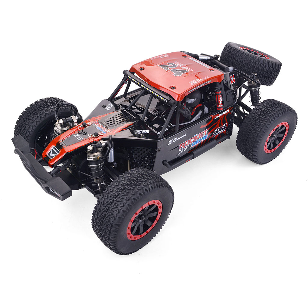 ZD Racing DBX 10 1/10 4WD 2.4G Desert Truck Brushed RC Car Off Road Vehicle Models 55KM/H red