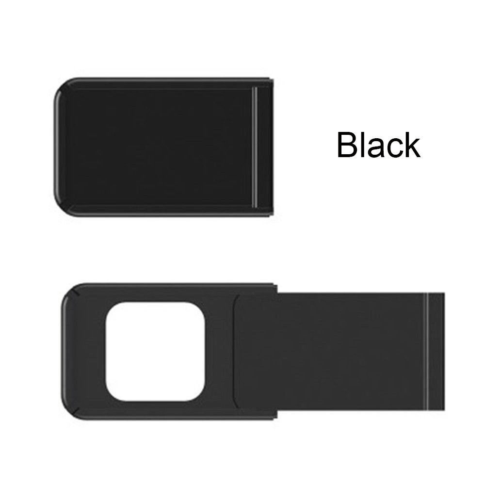 Camera Protective Cover Privacy Protection Webcam Cover Prevent Hacker Snooping Universal Application Square black