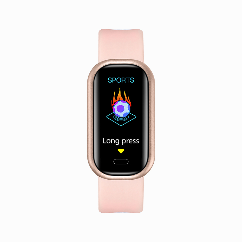 Smart Watch Bluetooth Call Health Monitoring Heart Rate Blood Pressure Blood Oxygen Exercise Smart Bracelet Pink