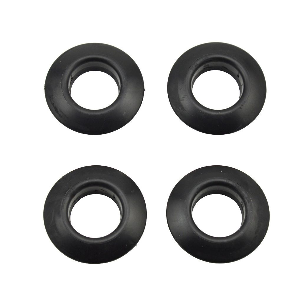 4pcs Universal Kayak Canoe Raft Paddle Oar Drip Rings Splash Guards Ring Paddle Accessories Replacement black_4 PCS