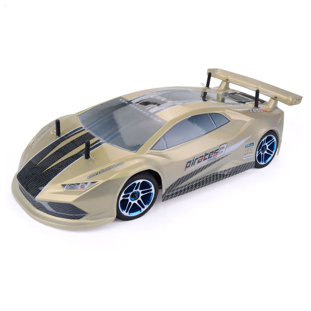 ZD Racing Pirates3 TC-10 1/10 2.4G 4WD 60Km/h RC Car Electric Brushless Tourning Vehicles RTR Model Gold