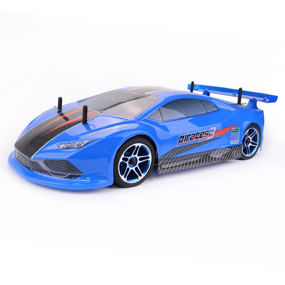 ZD Racing Pirates3 TC-10 1/10 2.4G 4WD 60Km/h RC Car Electric Brushless Tourning Vehicles RTR Model blue