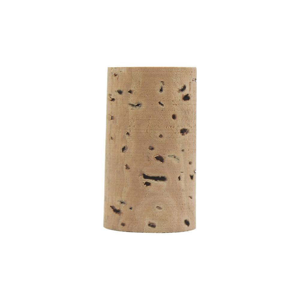 Flute Corks Flute Head Joint Cork Natura Cork Stopper Replacement Part for Flute Musical Intrument Accessories Wood color