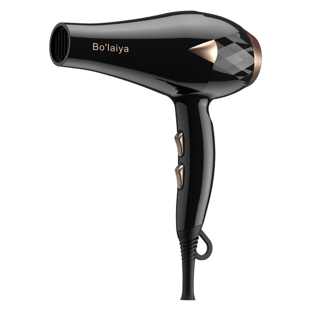 110V-220V Hair  Dryer Hair Salon Household Negative Ion High Power Hair Dryer Black