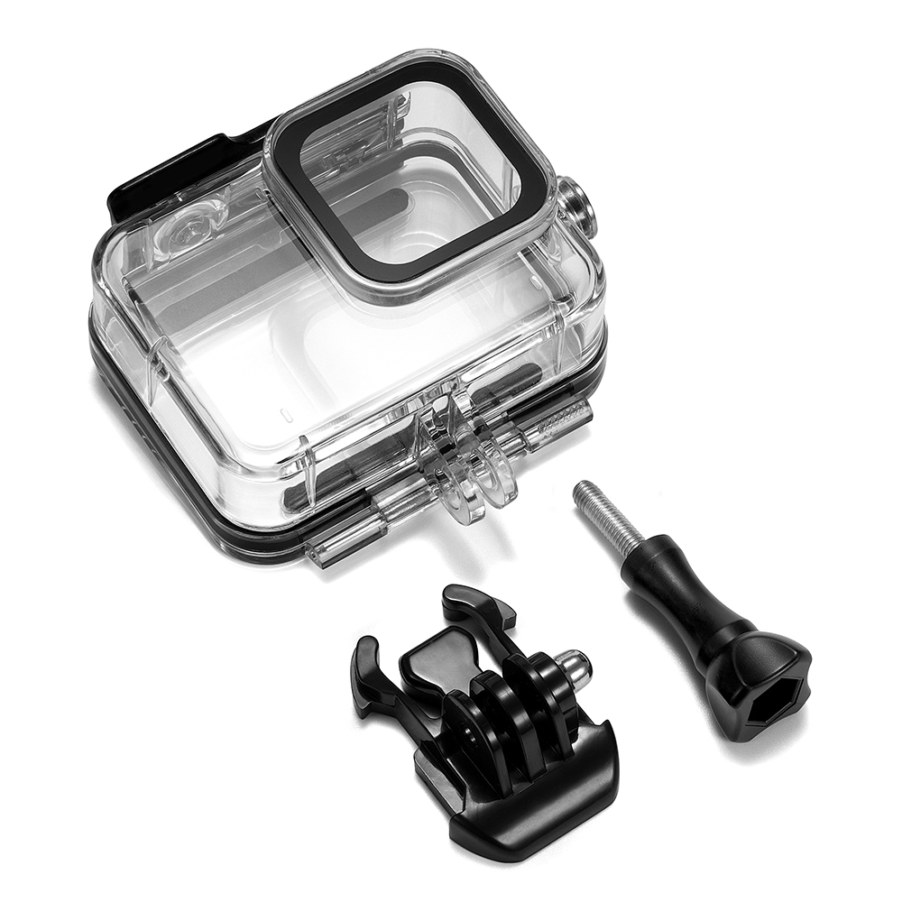 For Gopro Hero 8 Black Waterproof Housing Case Underwater Protective Shell Action Camera Accessories As shown