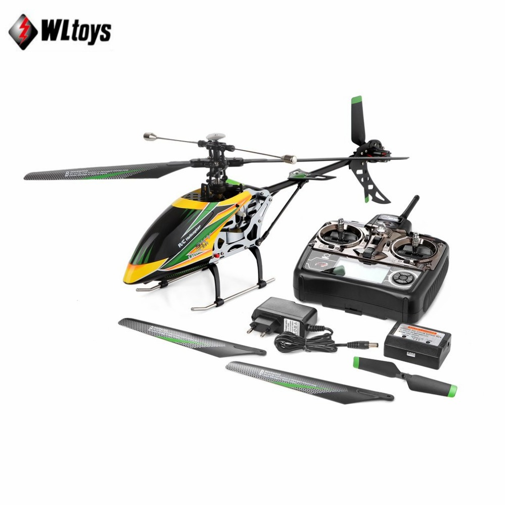 WLtoys V912 4CH Brushless RC Helicopter Single Blade High Efficiency Motor RC Helicopter U.S. regulations