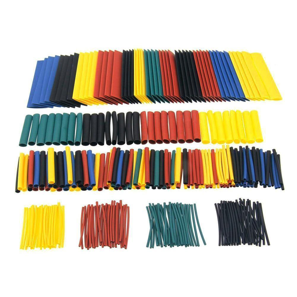 328Pcs 2:1  Electrical Cable Heat Shrink Tube