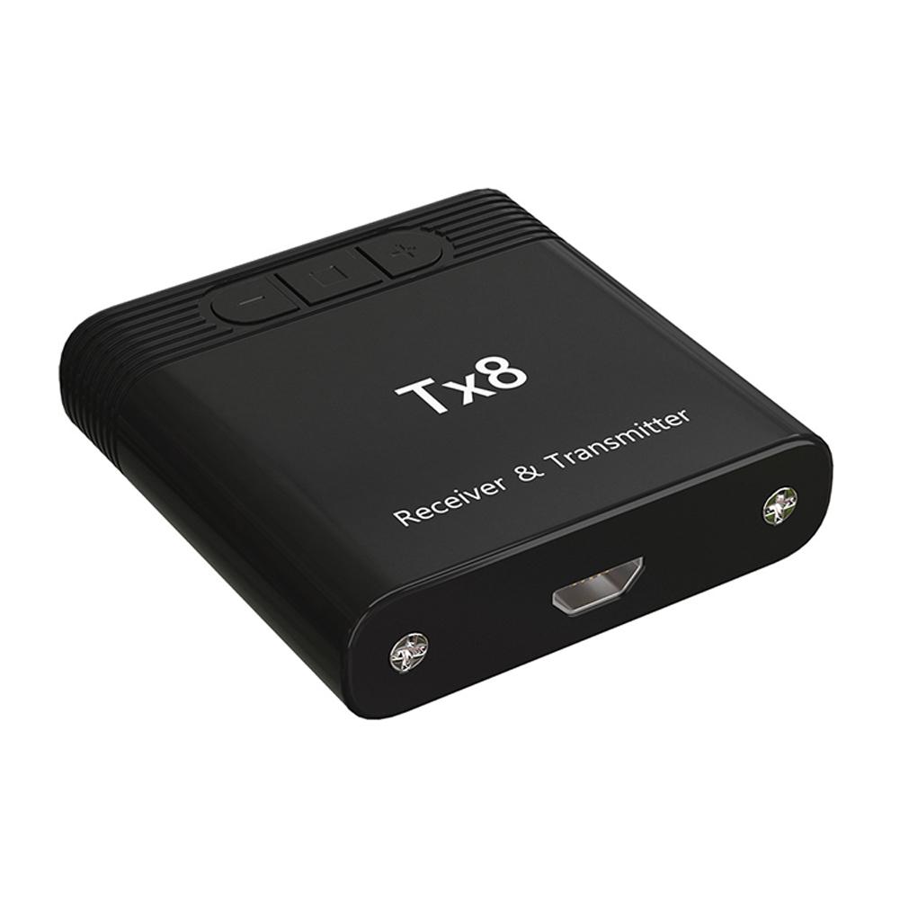 Bluetooth 5.0 Wireless 2 in 1 Transmitter Receiver Audio Adapter black
