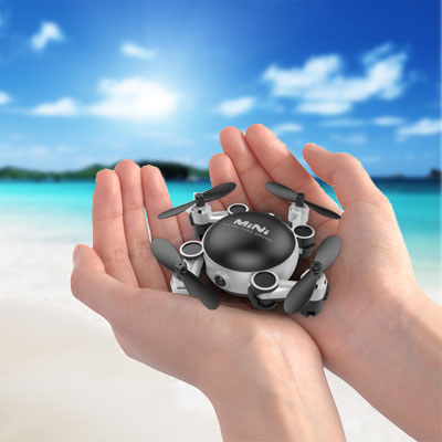 The smallest camera drones found in our assortment