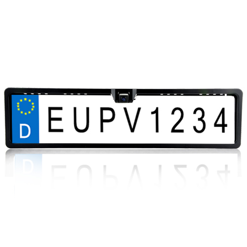 EU Licence Plate Rearview Camera