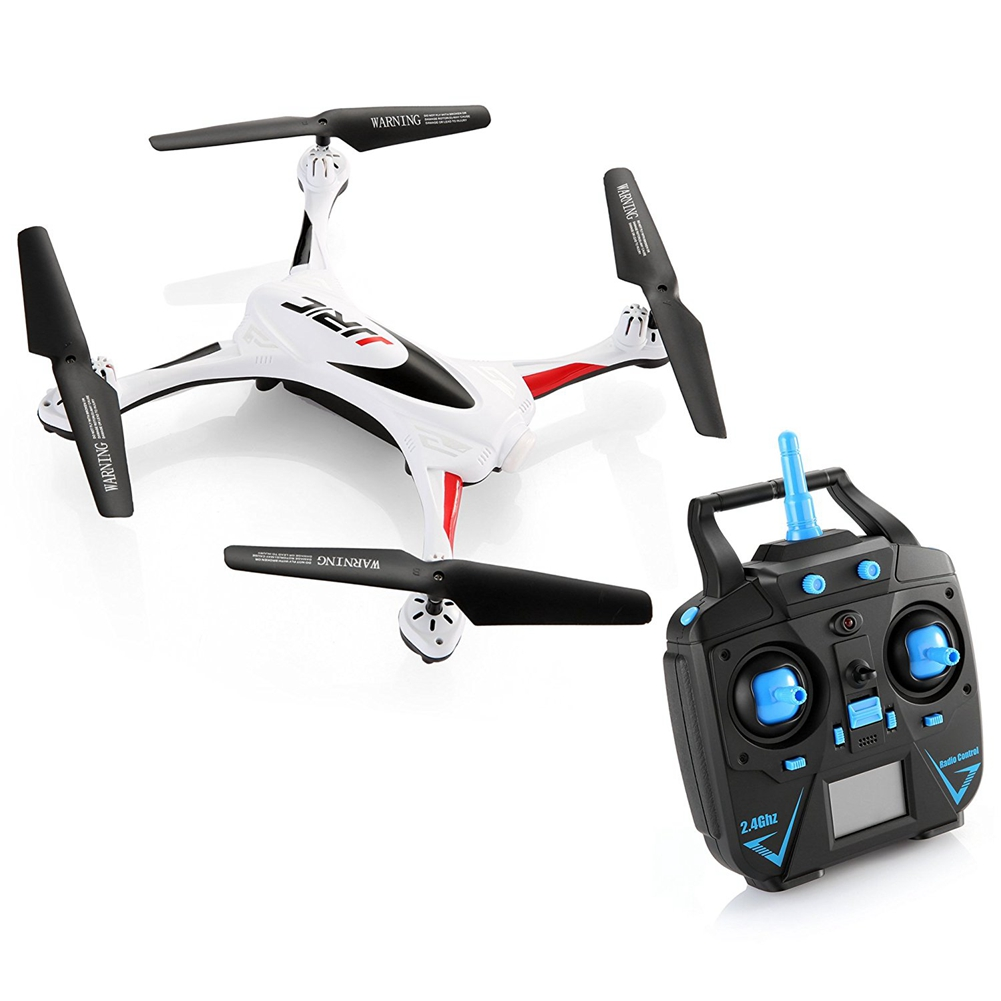 [EU Direct] Remote Control Quadcopter 2.4G 6 Axis Gyro Drone with Headless Mode One Key Auto-Return Quadcopter White