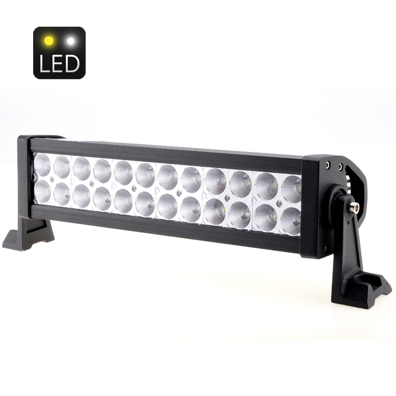 White Light Bar w/ 24x 3W Epistar LEDs