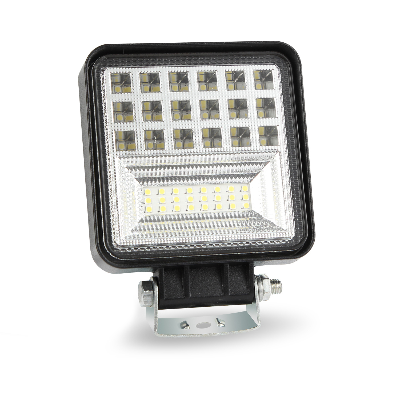 400W 6000K 4inch LED Work Light Bar Flood Spot Beam Offroad 4WD SUV Driving Fog Lamp