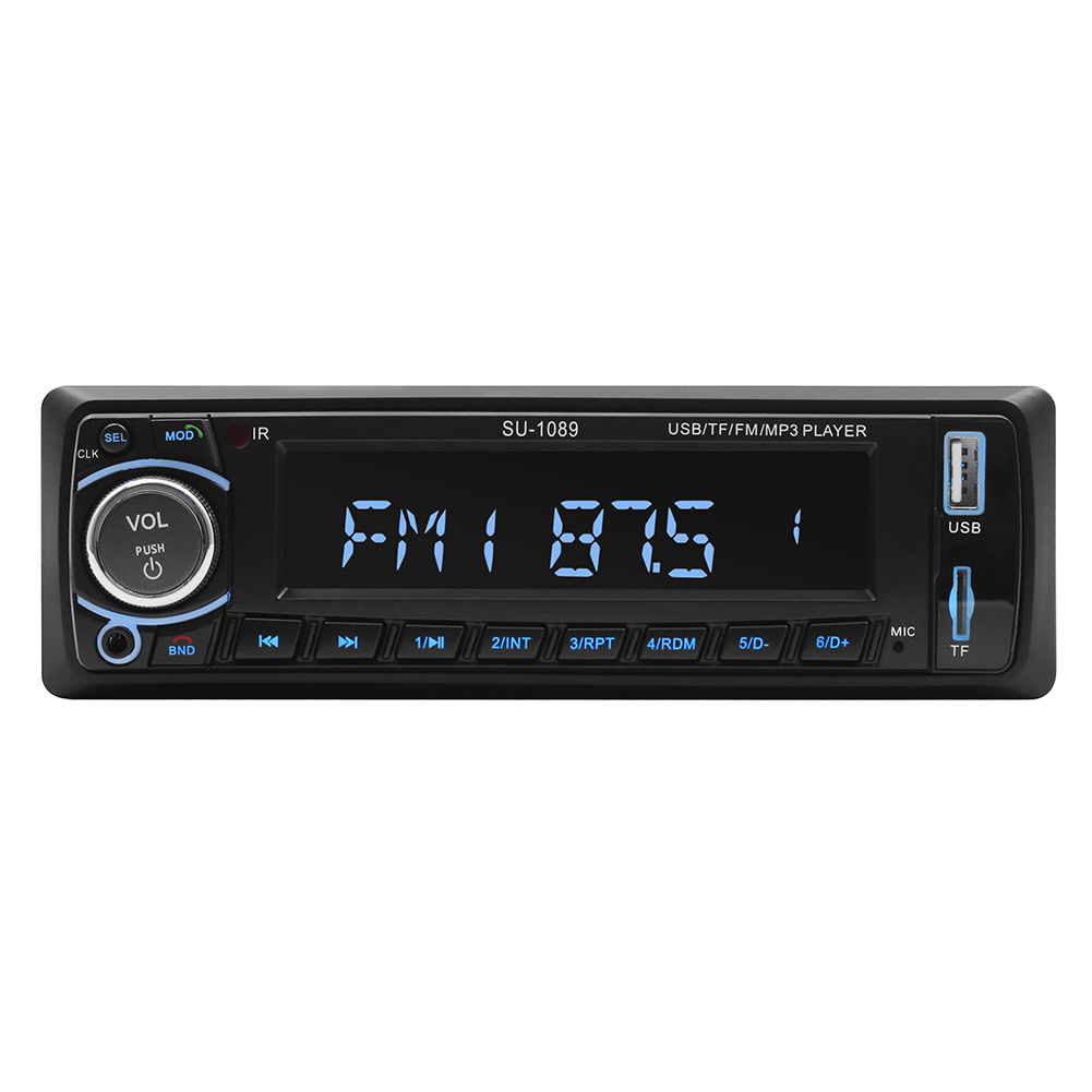 Wholesale Black Bluetooth Vintage Car Radio Mp3 From China: Wholesale Black Bluetooth Car Stereo Radio MP3 Player From