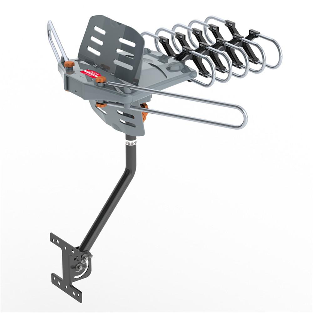 [US Direct] TA-102g 360-degree Rotating UV Dual-segment 28-36db Outdoor Antenna Without Bracket Gray