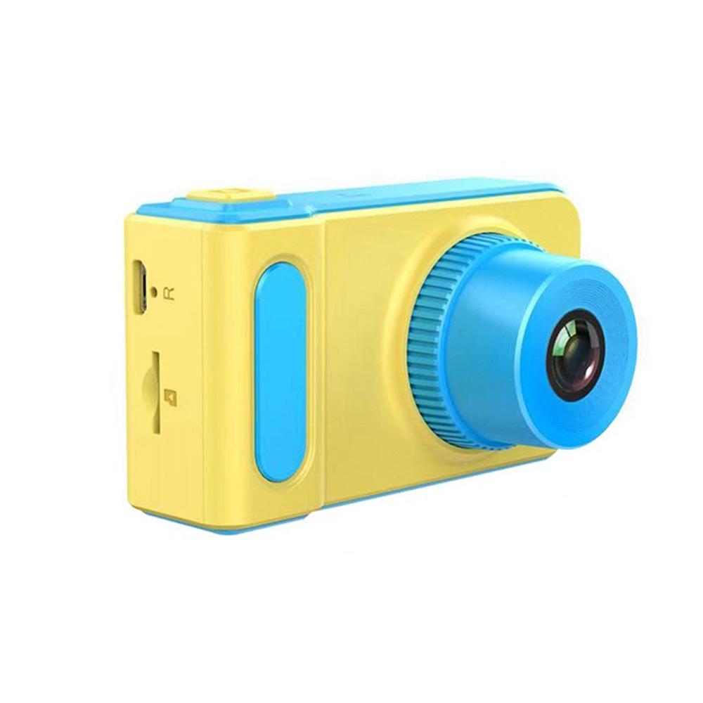 Kids Camera Educational Mini Digital Photo Camera Photography Toy for Children blue