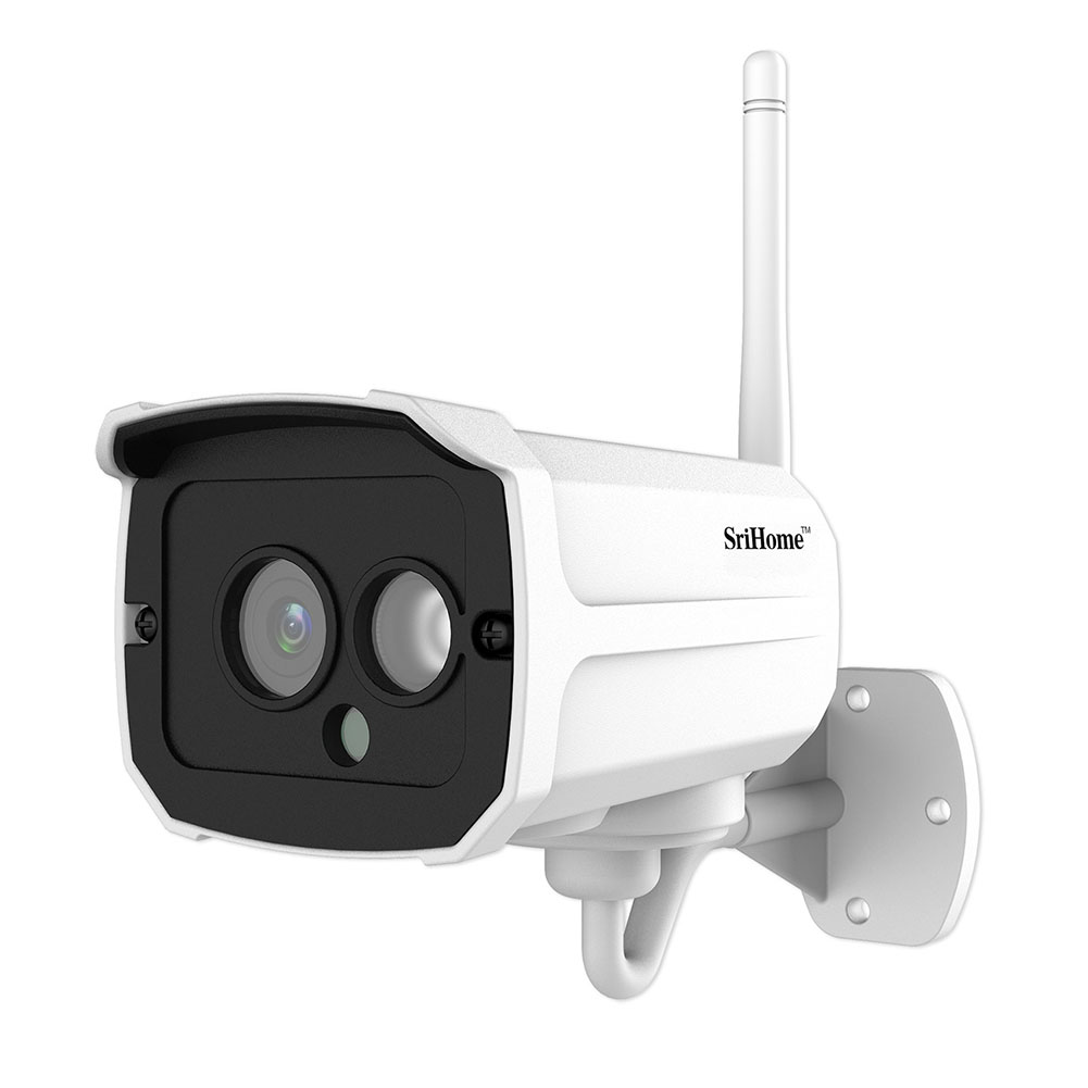 Wireless Home Security IP Camera EU Plug