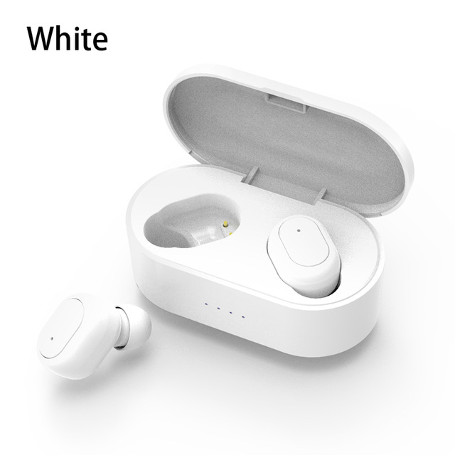 M2 TWS Bluetooth Earphone 5.0 True Wireless Headphones With Mic Handsfree Stereo Sound Universal Headset For iPhone Samsung Xiaomi Cellphoes White