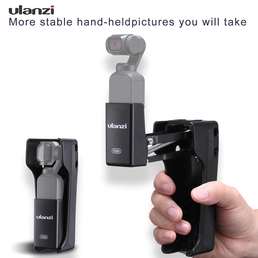 Ulanzi OP-9 4 Axis Gimbal Base Mount for Dji Osmo Pocket Stabilizer Base Mount Adapter for Osmo Pocket Accessories black