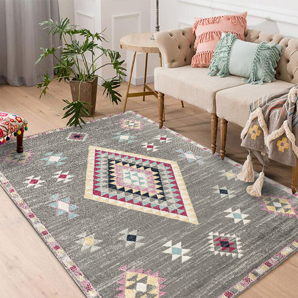 Nordic Style Floor Mat Carpet for Living Room Home Decoration Accessories 20#_100*160CM
