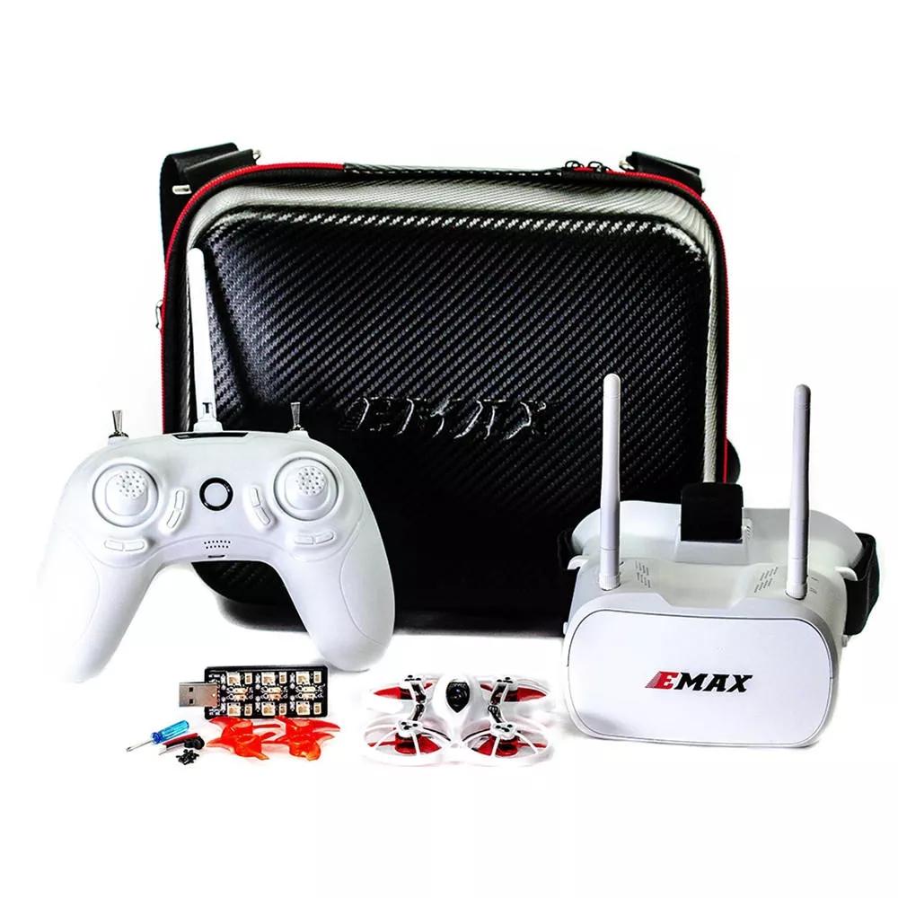 Emax Tinyhawk Indoor FPV Racing Drone BNF RTF F4 4in1 3A 15000KV 37CH 25mW 600TVL VTX 1S RTF