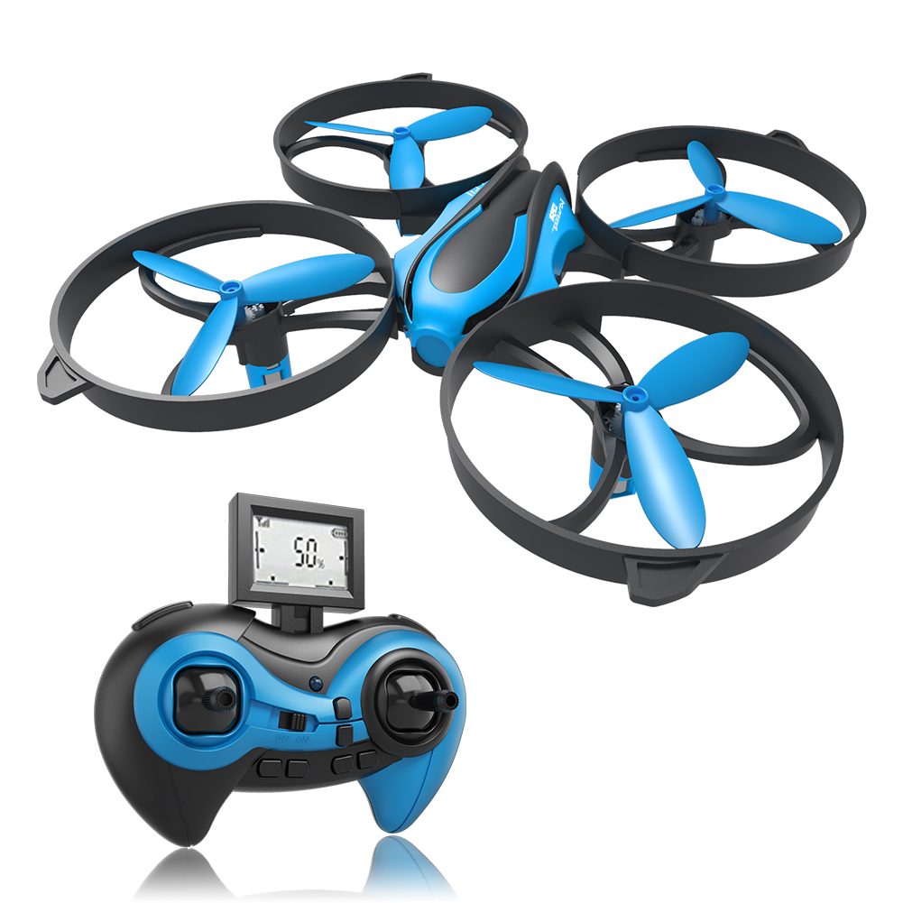 [US Direct] RCtown Mini RC Helicopter Drone Mode 3D 360° Flips & Rolls 2.4Ghz 6-Axis Gyro 4 Channels Quadcopter with Altitude Hold