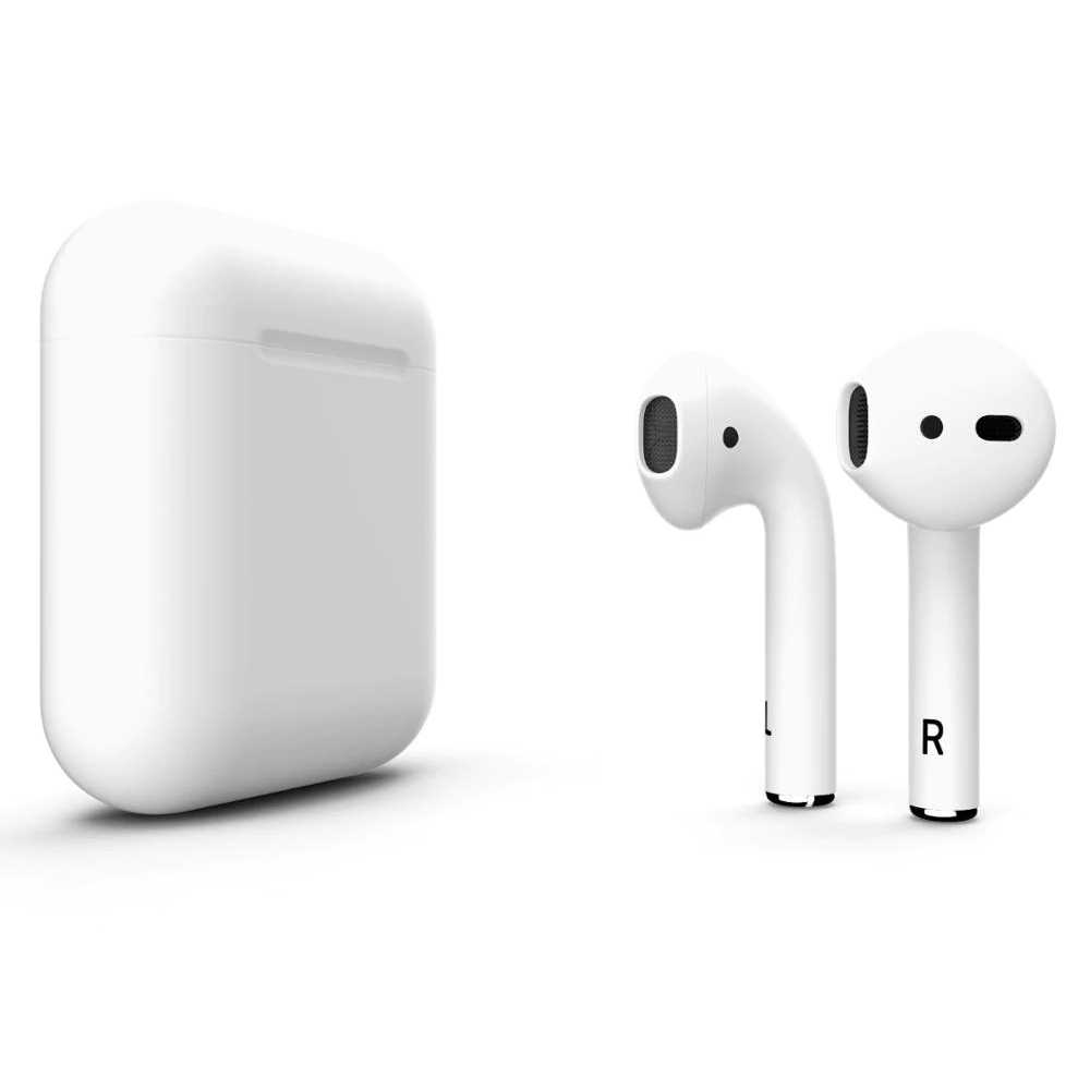 I12 Colour TWS Bluetooth 5.0 Earphone Wireless In-Ear Headphones Touch Control Earbuds 3D Surround Sound White