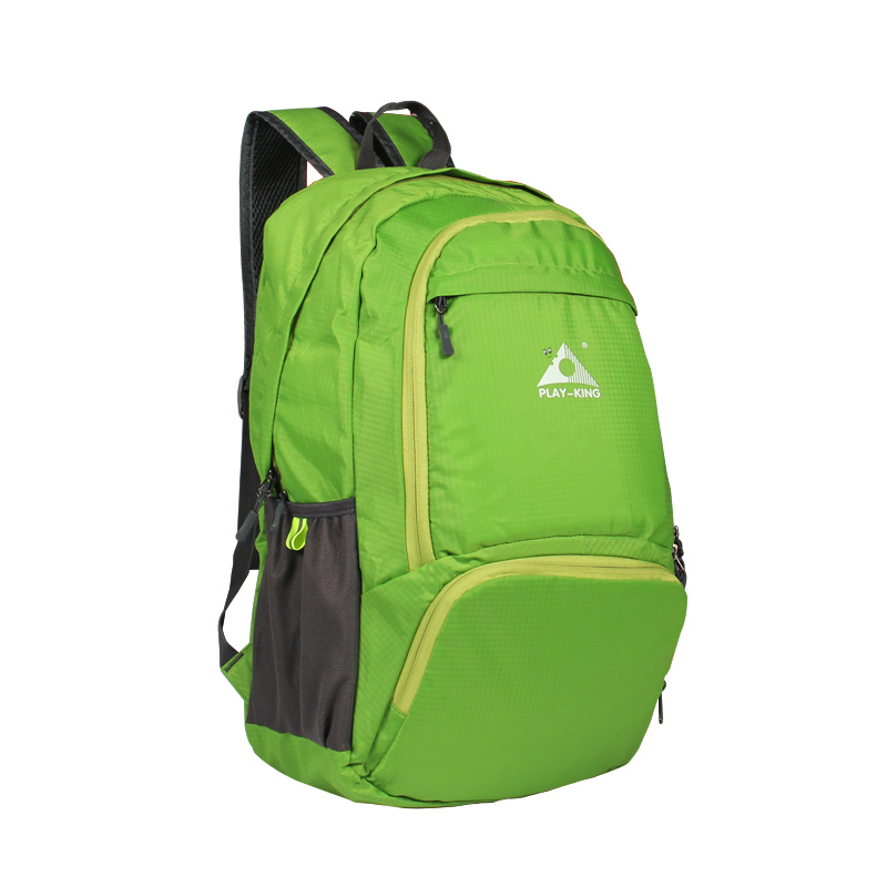 Foldable Waterproof Backpack Outdoor Travel Folding Lightweight Bag Bag Sport Hiking Gym Mochila Camping Trekking green