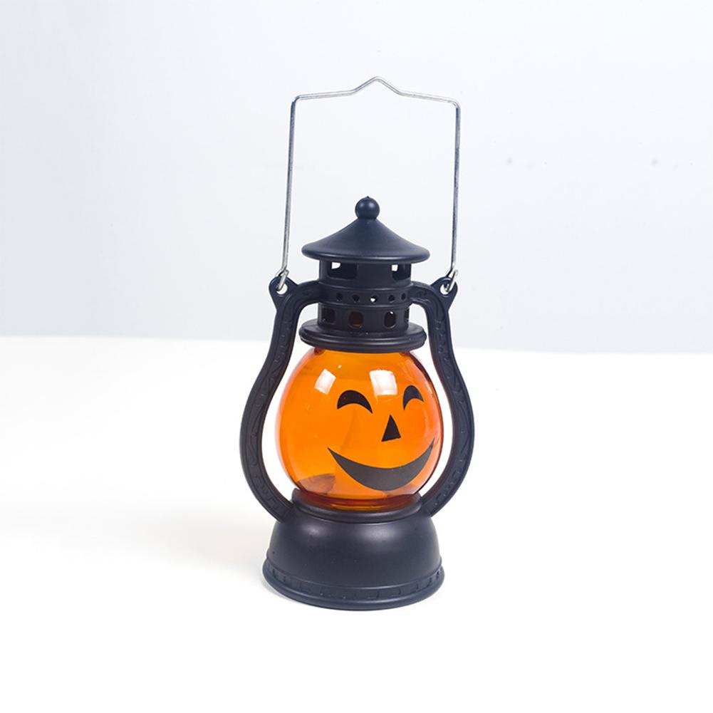 Creative Halloween Pumpkin Small Wind Lights Atmosphere Light Decoration Accessories B