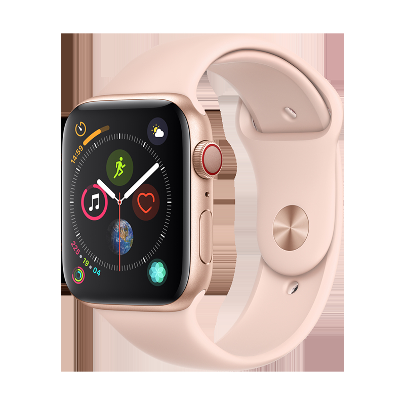 Apple iWatch Series 4 Watch pink_GPS 44mm