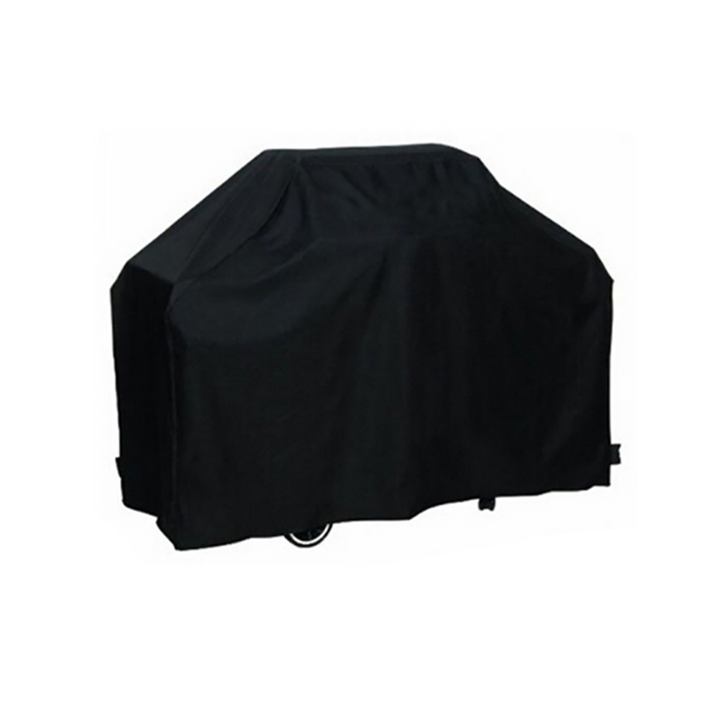 Outdoor Polyester BBQ Furniture Dust Black Cover black_L: 170x61x117cm
