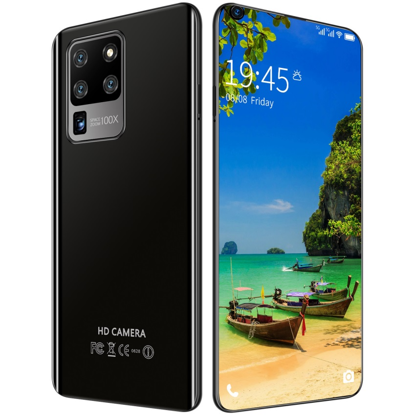 S30U Plus 6.82 inch 2GB RAM 16GB ROM Large-screen Mobile Phone black_U.S. plug