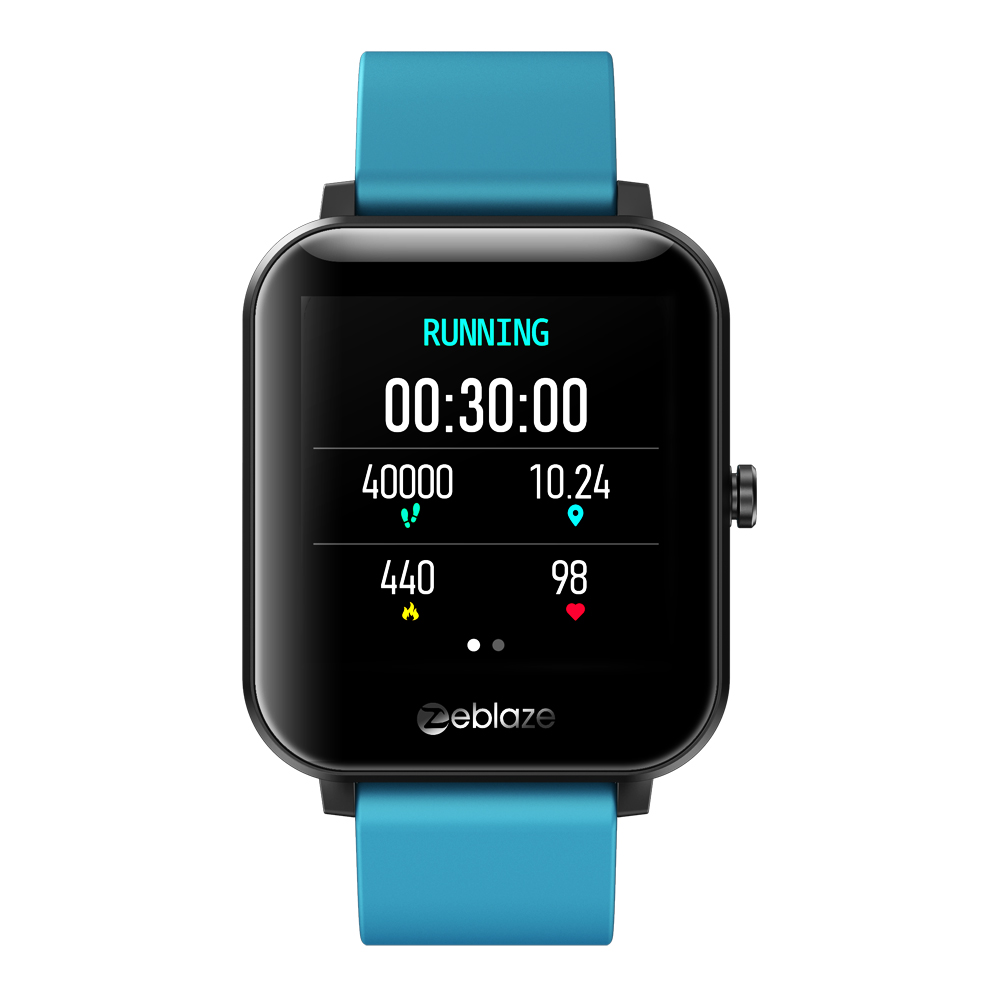 Gts Smart Watch Silicone Dual-band Bluetooth Call Heart Rate Blood Pressure Blood Oxygen Monitoring Smart Bracelet blue