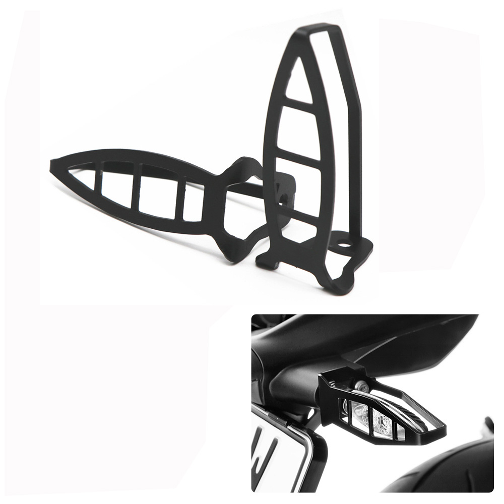 Motorcycle Front Turn Signal Protection Bracket for BMW F750GS F850GS R1200GS R1250GS  black