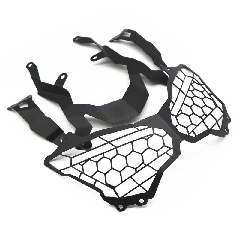 Motorcycle Headlight Guard Protection Grill Protector Cover for kawasaki z900 17-20 black