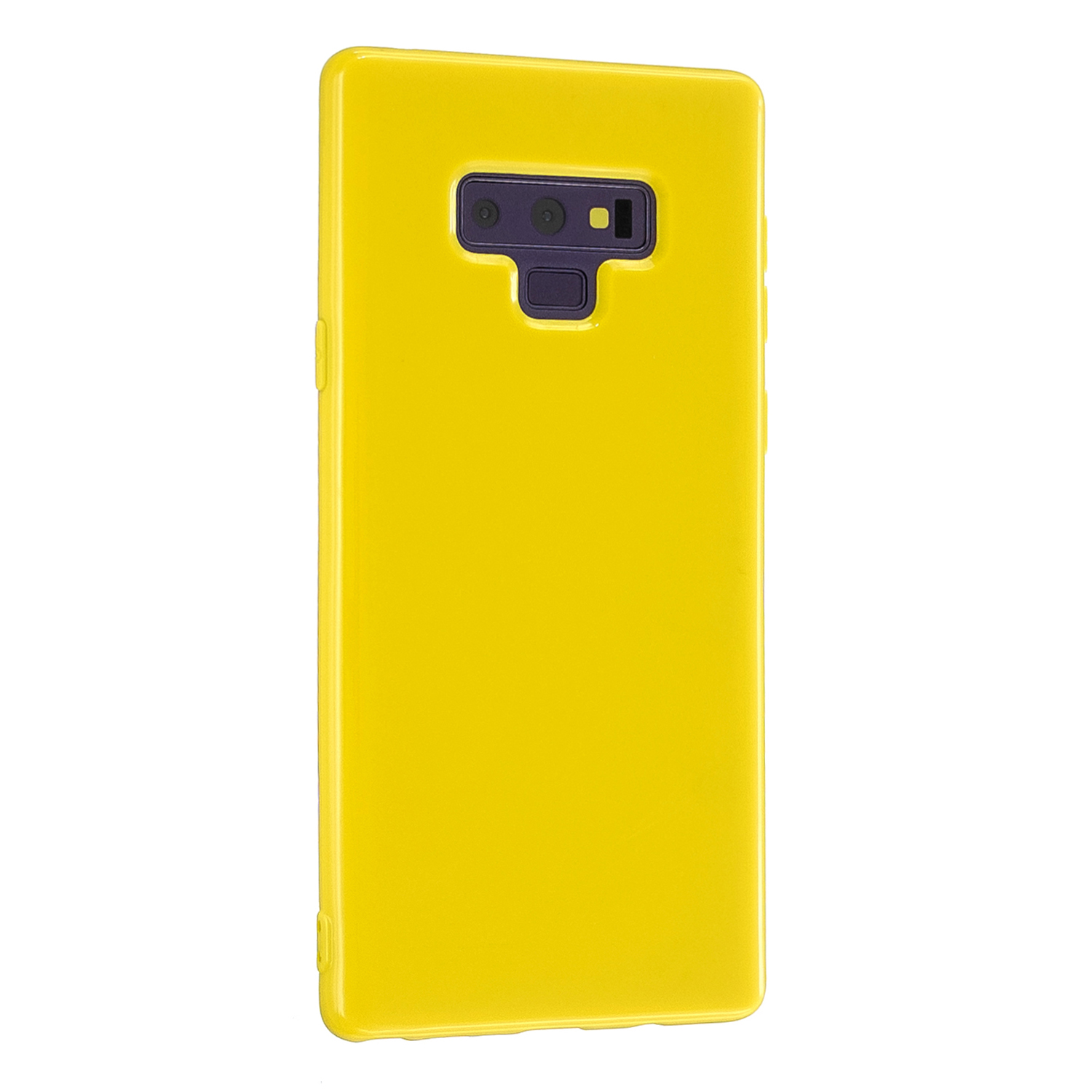 For Samsung Note 8/Note 9 Mobile Phone Shell Thickened Case Anti-slip Screen Protector Smart Cellphone Cover Yellow