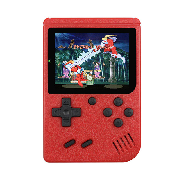 Multicolor Game Players 400-in-1 Game Consoles Handheld Portable Retro Tv Video Game Console red