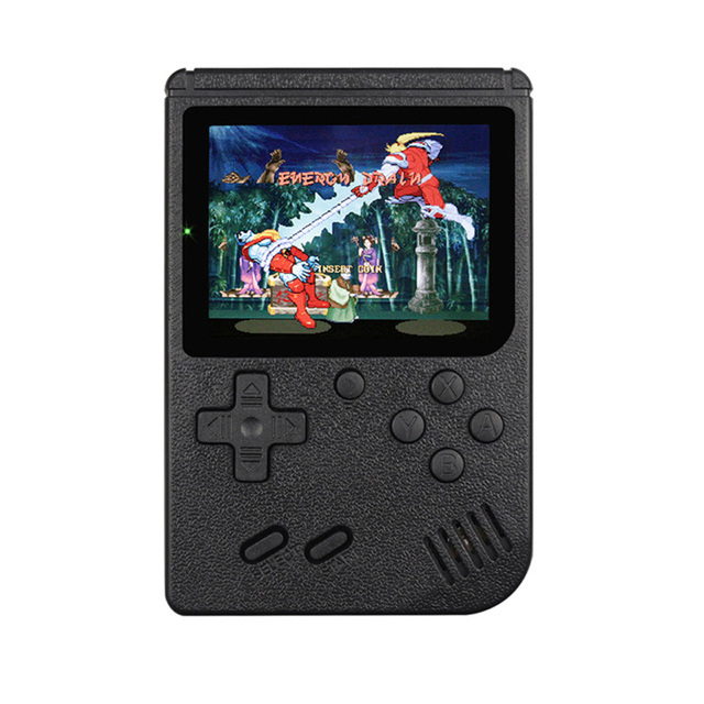 Multicolor Game Players 400-in-1 Game Consoles Handheld Portable Retro Tv Video Game Console black