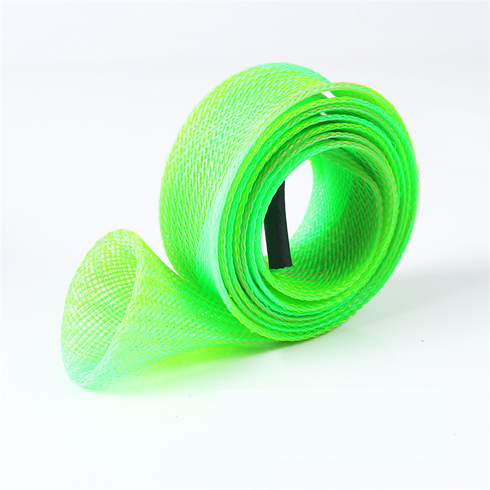 Storage Bag Multicolor Anti-scratch Telescopic Fishing Rod Protection Bag light green