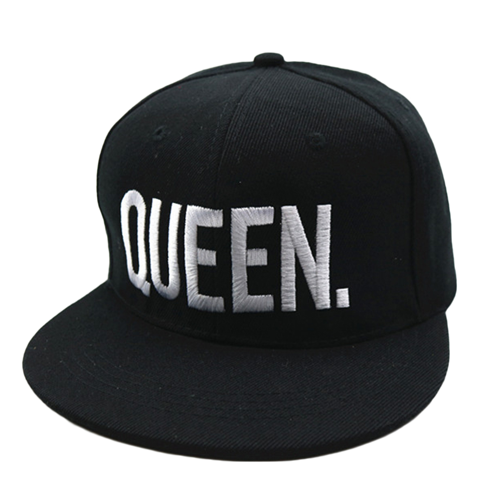 Fashion QUEEN Letter Printing Sports Baseball Cap Unisex Adjustable Camping Traveling Hat one size