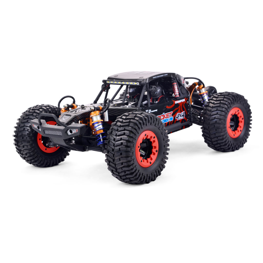 ZD Racing DBX 10 1/10 4WD 2.4G Desert Truck Brushless RC Car High Speed Off Road Vehicle Models 80km/h W/ Head Up Wheel  red