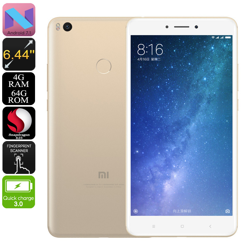 Xiaomi Max 2 Phablet (Gold)