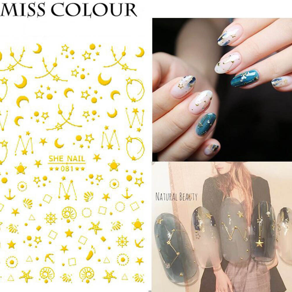 Manicure Nail Sticker Manicure Stickers Accessories Strawberry Rainbow Cherry Stickers Nail sticker_081
