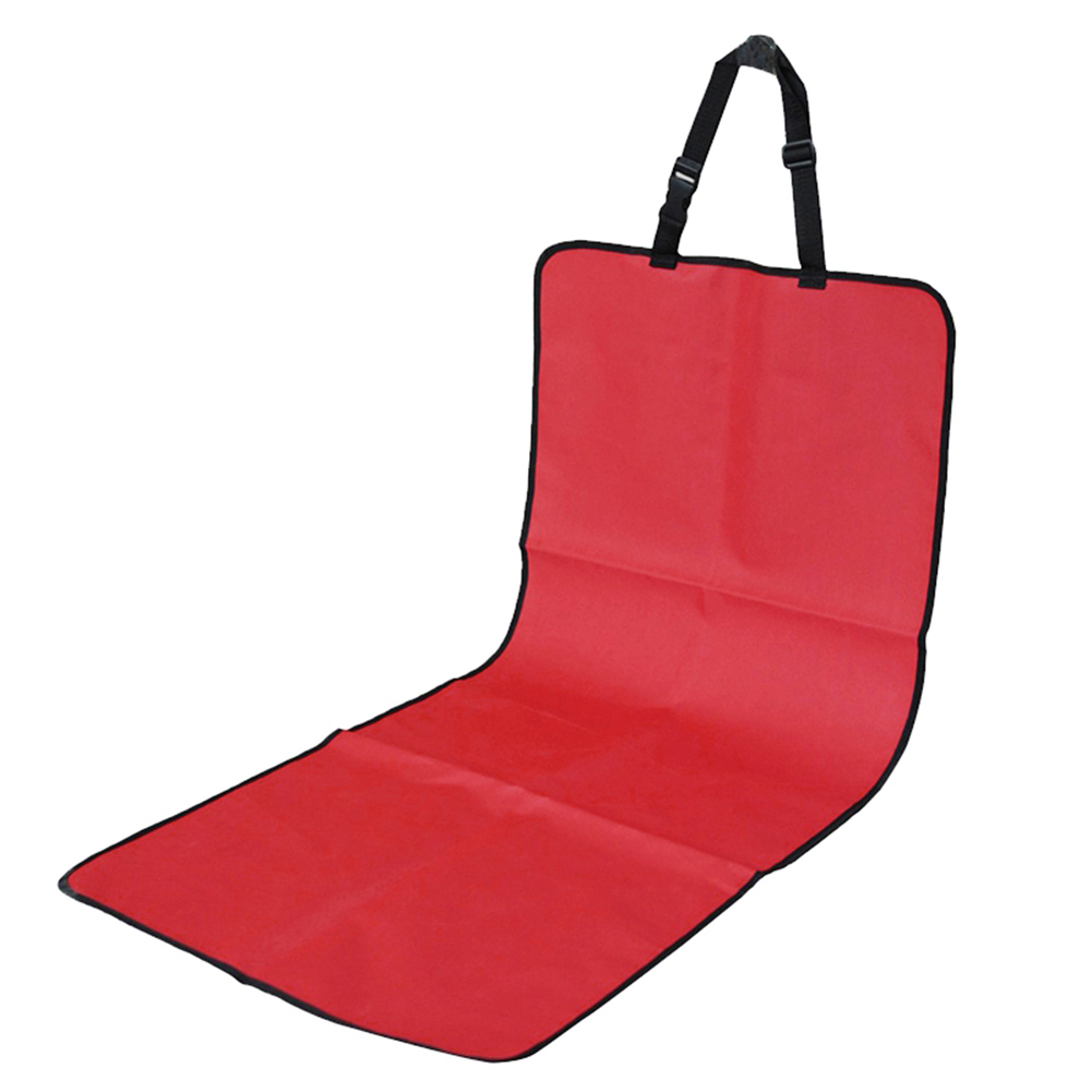 Fashion Waterproof Front Seat Cover Cushion Protector for Pet Dog red