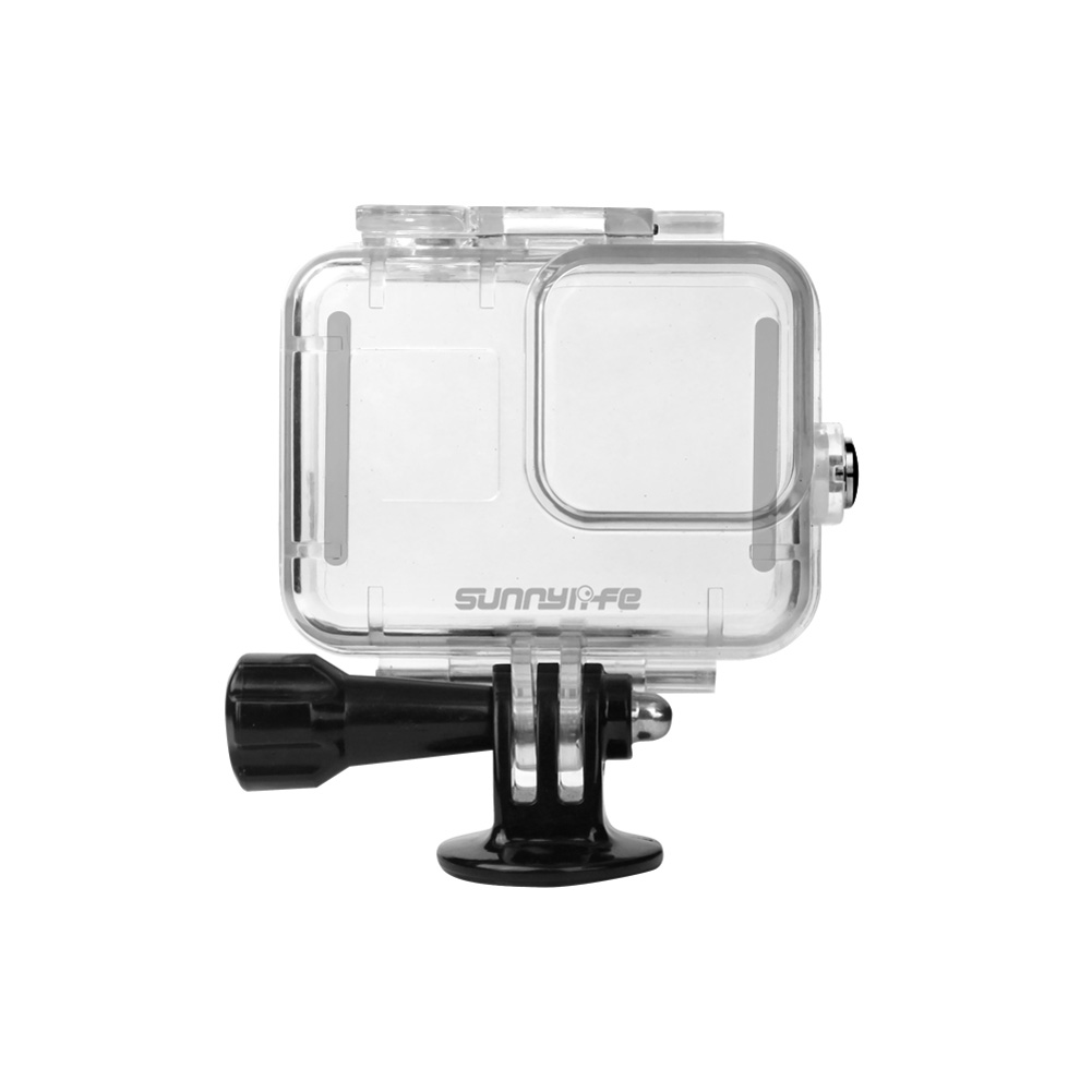 Sports Camera Waterproof Shell Protective Cover Underwater Photography Diving Stick Buoyancy Stick for GoPro Hero 8 Camera Accessories 1*case