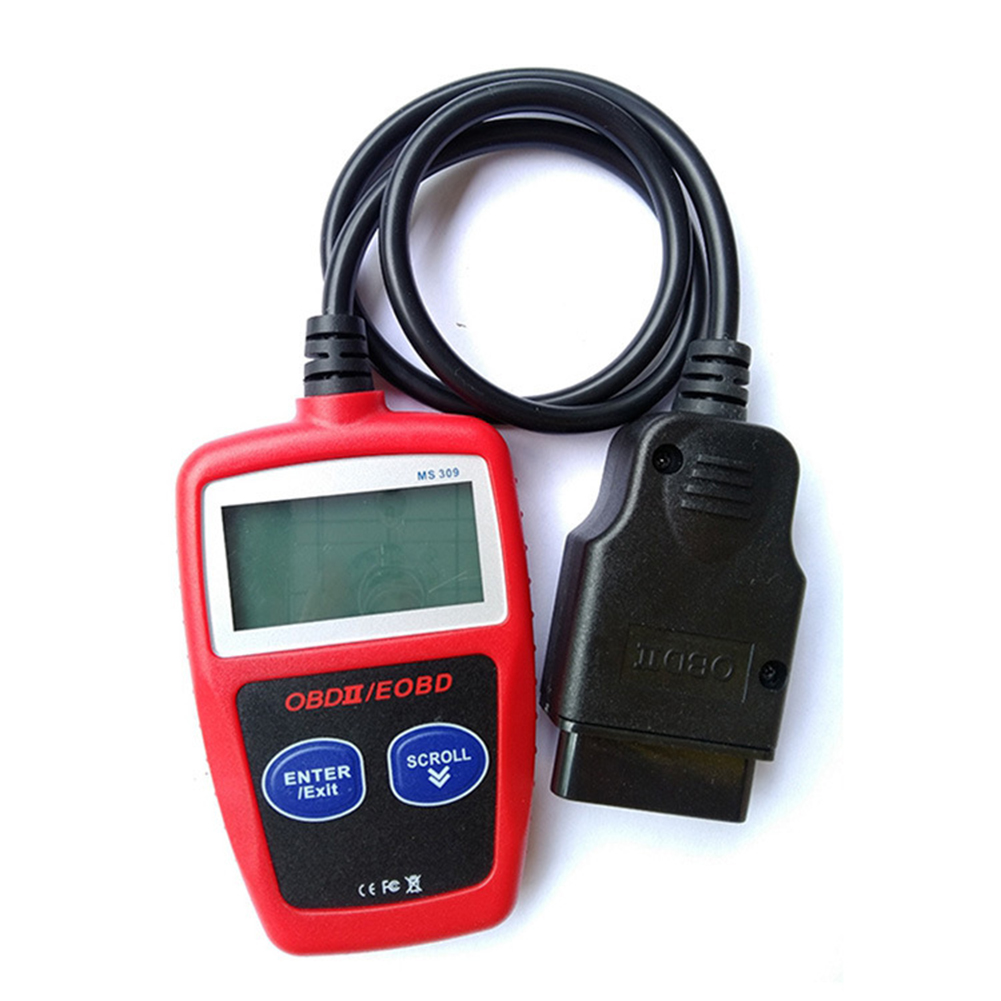 General Type Car Diagnostic Instrument for Automotive Obd Fault Detector red